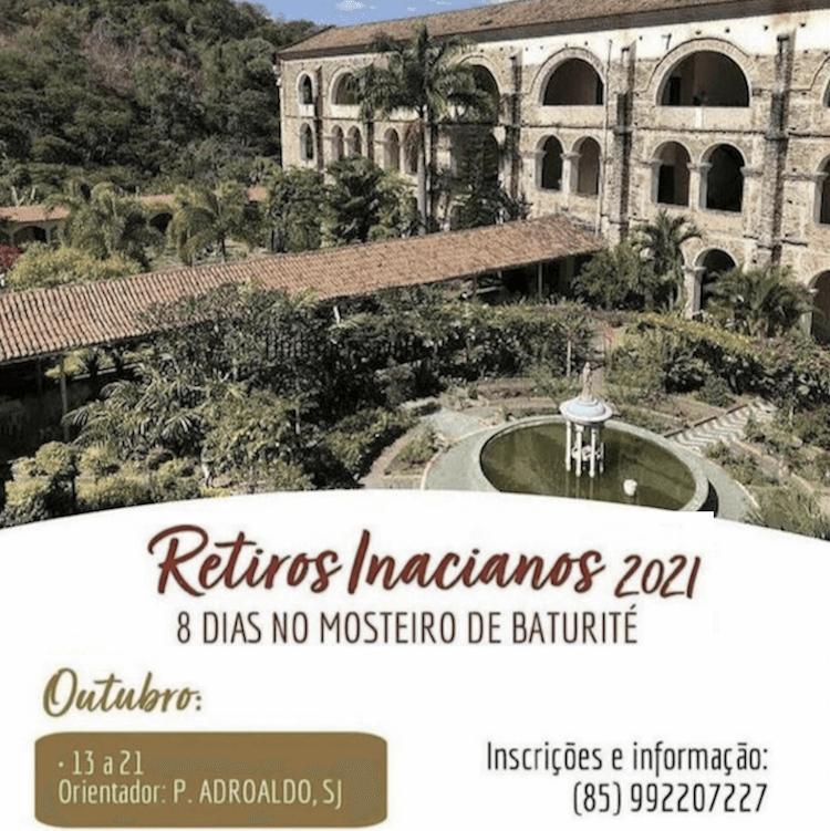 Retiros Inacianos 2021 – Pe. Adroaldo Palaoro, SJ