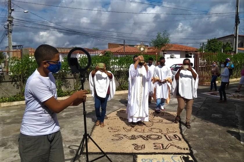 Ano Inaciano é mencionado nas celebrações de Corpus Christi