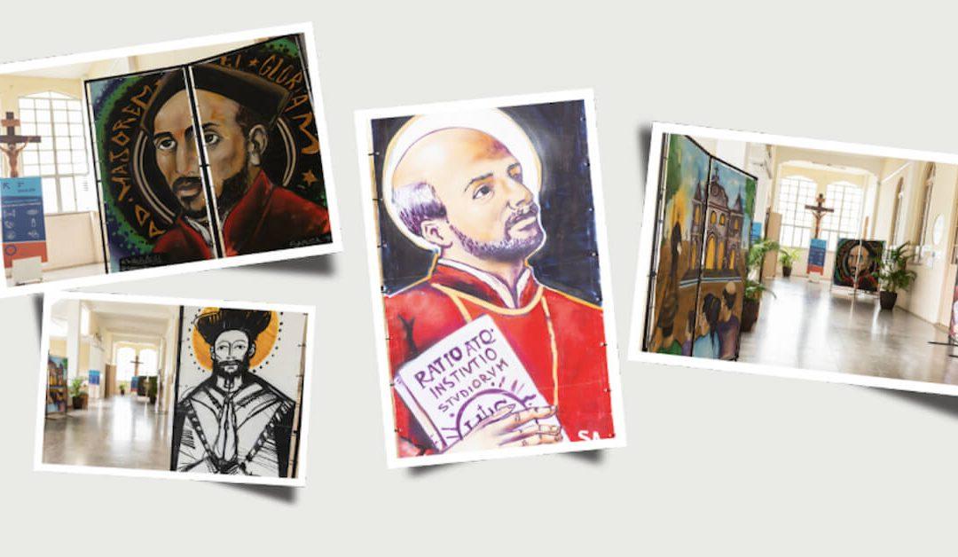 Exposição de arte em grafite celebra Ano Inaciano