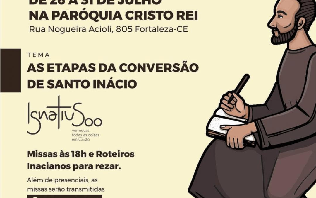 """Semana Inaciana: """"As etapas da conversão de Santo Inácio"""""""