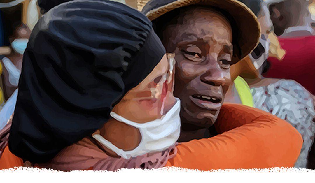 8º Guia de Oração da CPAL 'O rosto desfigurado de Deus'