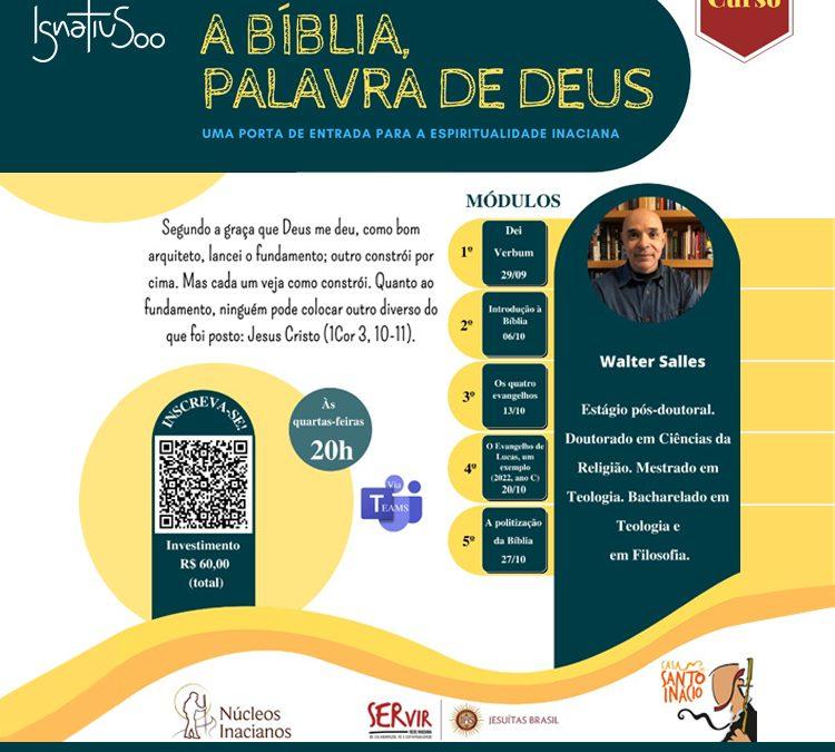 Curso – A Bíblia, palavra de Deus