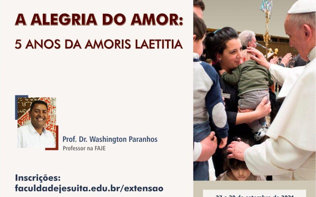 Minicurso 'A alegria do amor: 5 anos da Amoris Laetitia'
